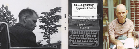 Calligraphy Typewriters: Sel Poems of Larry Eigner, cover