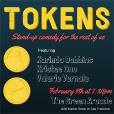 Tokens Comedy in San Francisco