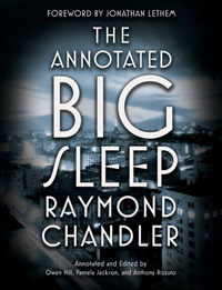 The Annotated Big Sleep,cover