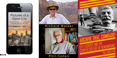 Rhichard Walker & Phil Cohen, author photos, book covers