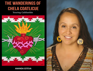 Wanderings of Chela Coatlicue Alvarez, cover