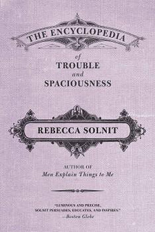 encyclopedia of trouble and spaciousness paperback  cover